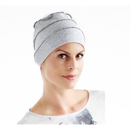 New Comfort Cap Wolle Grau
